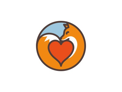 Fox and heart