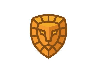 Lion Guard symbol mark morecolor logo shield protect security guard tiger lion