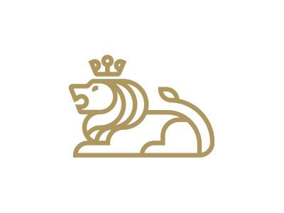 Lion morecolor logo capital mane crown king africa animal lion