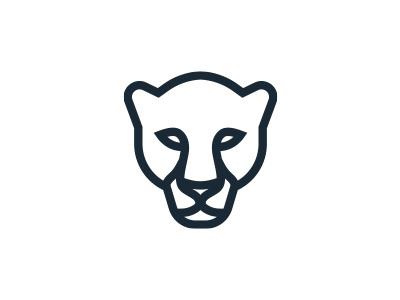 Panther morecolor logo africa animal lion leopard panther