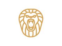 Lion morecolor logo roar mane crown king africa animal lion