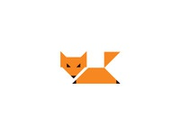 Fox with triangles