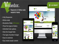 Venedor - Premium Magento Theme Preview