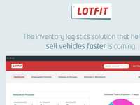 Lotfit Marketing Page