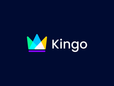 Kingo Logo Animation crown animation 2d intro 2d animation logo animation animation