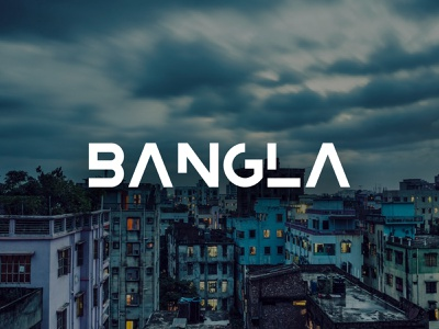 Bangladesh Free Font typogaphy abstract geometric typeface typograp[hy text type free font font