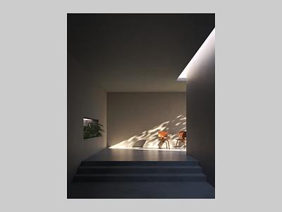[cloud] opens students room cycles render b3d blender3d blender interior interior design space 3d art 3d rendering university coworking space coworking dessau cloud