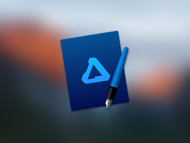Affinity Designer Icon macos os x mac icon designer affinity