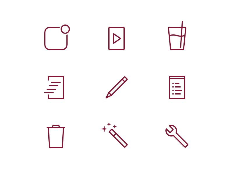 Elg 2.0 release notes icons