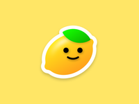 Little Lemon – Sticker