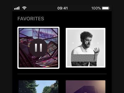 Shellac interface ios app player music shellac