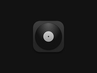 Shellac – Icon icon ios interface app player music shellac
