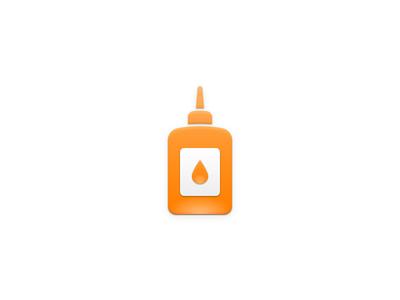 Glue Icon icon bottle glue