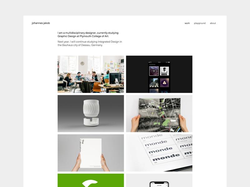 Website Redesign website design web design redesign portfolio website