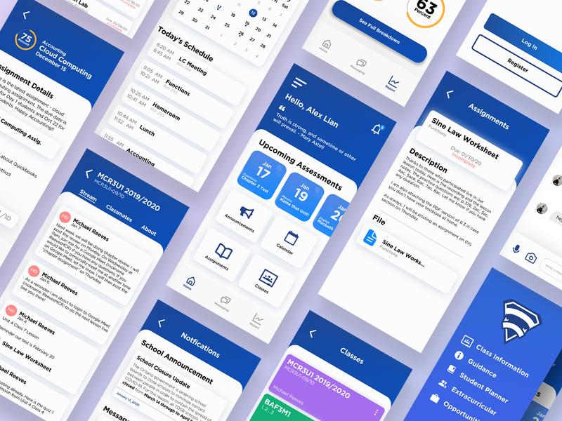 School App Concept