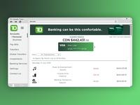 TD Bank Website Design Concept