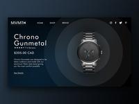 MVMT Watches Concept Design