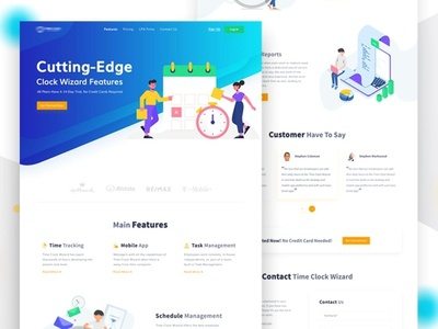 Features Page Web UI