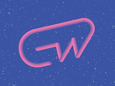 GW (Personal Logo) blend logo personal gw