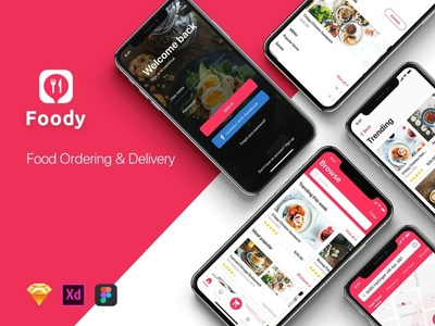 Foody - Food App UI Kit