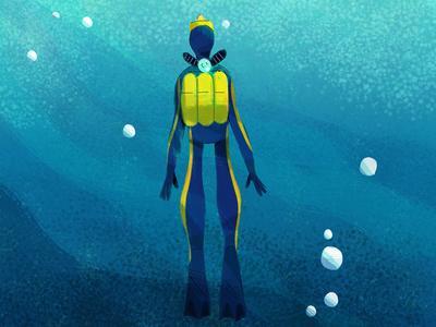 Buceo deep sport jesusescudero cousteau sea
