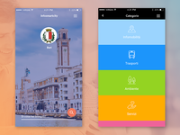 • Re-design - InfoSmartCity app •