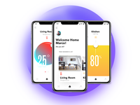• Smart Home UI Weekly Challenges Season 02 / Week [8/10] •