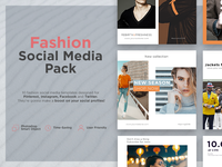 • Fashion Social Media Pack •