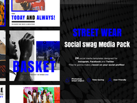 • Street Wear Social Swag Media Pack •