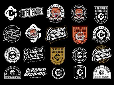 Branding Package #1 artwork streetwear branding typography illustration vector graphic apparel clothing logo