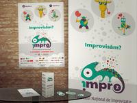 Impro Logo and stationary design