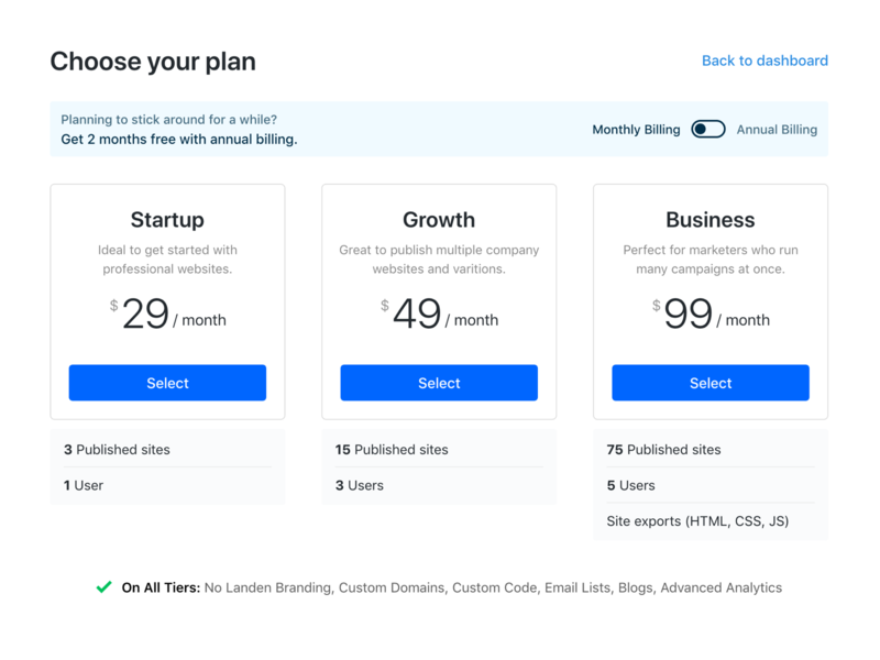 Choose your plan webapp minimal ui dashboard pay upgrade buy plan checkout