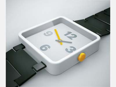 Watch product 3d product design watch hardware minimalist