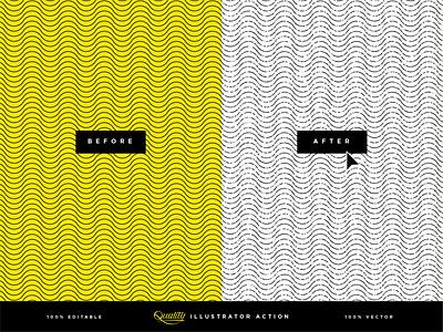 Illustrator Action design linework product creative market purchase add-on texture vector action illustrator adobe