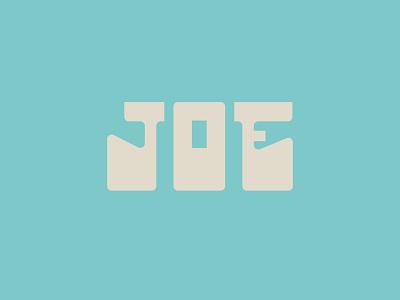 Cup of Joe design vector custom type type design custom typography type