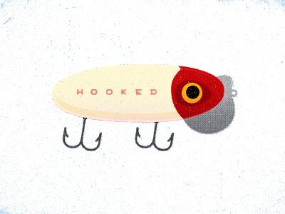 The Jitters illustration texture fishing
