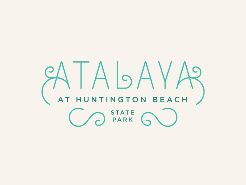 Atalaya Logotype sc monoweight logotype brand development identity logo branding type typography