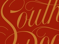 Southern Lettering