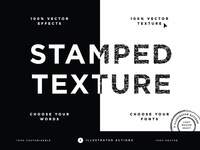Vector Stamped Texture