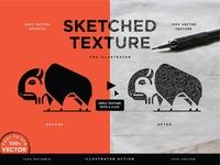 Vector Sketched Texture