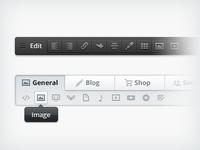 Content Edit Widgets