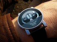 Music Player UI concept for Android Wear