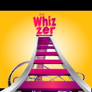 The Whizzer vector design illustration branding