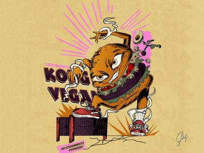 kong vegan