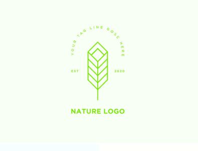 Nature Logo Preview