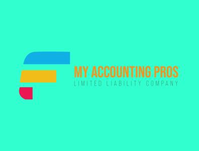 Accounting Company Logo type art branding typography icon vector logo illustration design