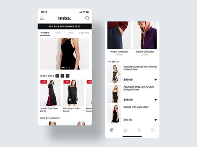 Imba-Ecommerce App Home 4