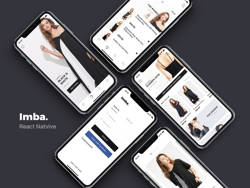 download imba react native e commerce app template nulled. Black Bedroom Furniture Sets. Home Design Ideas