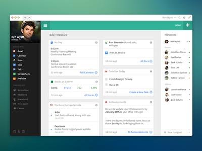 Google Apps Concept