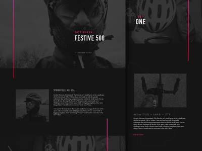 Rapha Festive 500 festive500 travel personal rapha bike cycling responsive website landing page